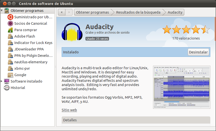 how to download audacity for ubuntu